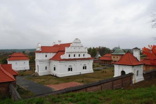 Die Residenz des Kosakenführers. Foto von Sachar Kolisnitschenko