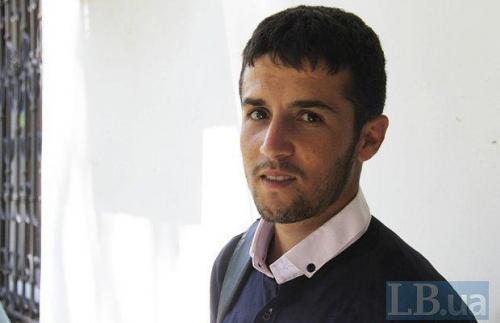 Asmat aus Afghanistan hat einen ukrainischen Traum