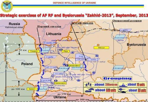 Militärmanöver «Sachad-Sapad» Belarus