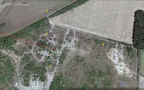 """Feldlager """"Aleksandrowka"""" der russischen Invasionstruppen am 15.08.2015 (unmittelbar vor der Invasion)"""