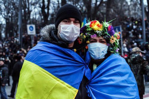Maidan Kyjiw Januar 2014