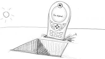 Andrij Makarenko: Motorola - kein Signal