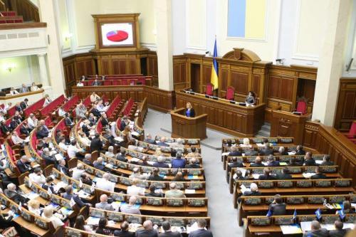 Werchowna Rada Sitzungssaal