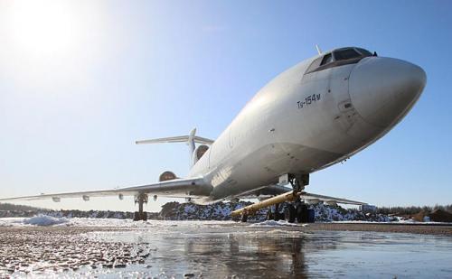 sowjetische Tu-154M, Bild: Timur Chanow