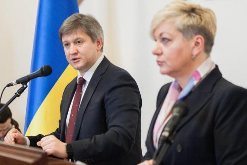 Alexander Daniljuk und Walerija Gontarewa