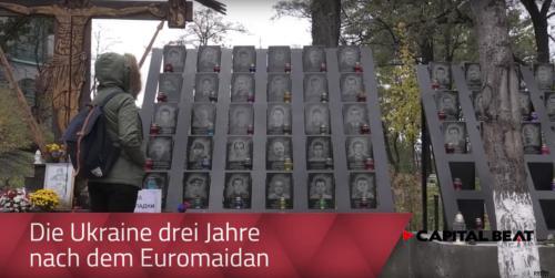 Die Ukraine drei Jahre nach dem Euromaidan