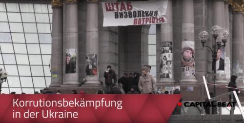 Korruptionsbekämpfung in der Ukraine