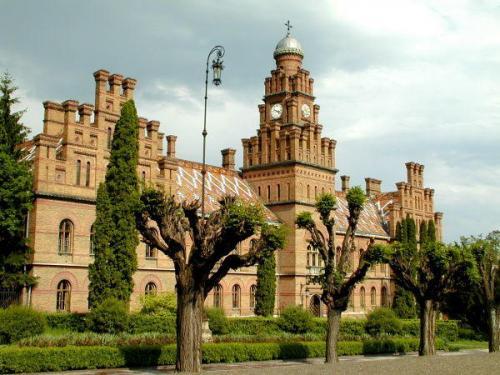 Universität Tscherniwzi – die ukrainische Hogwarts-Schule. Foto aus iliveukraine.com