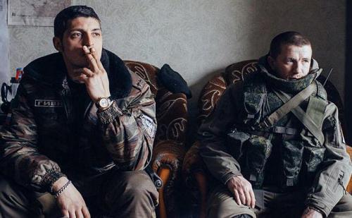 Michail (Giwi) Tolstych und Arsen (Motorola) Pawlow