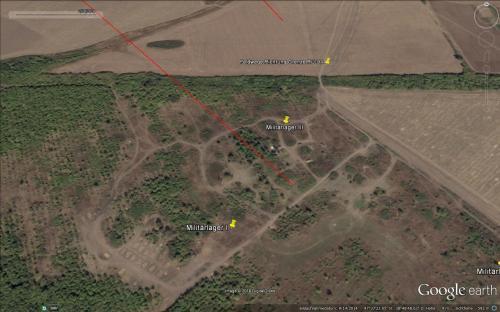 Leeres Feldlager am 14.09.2014 ohne Infrastruktur