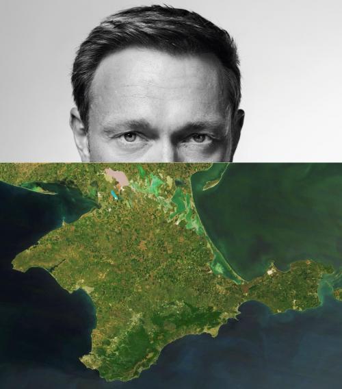 Christian Lindner und die Krim