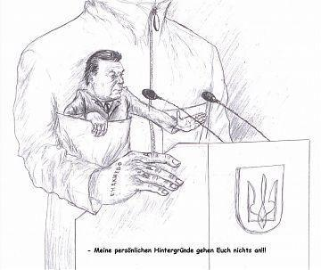 Janukowytsch: Meine persönlichen Hintergründe gehen Euch nichts an.