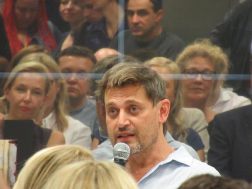 Jurko Prochasko erzählt im Generalkonsulat von Sacher-Masoch