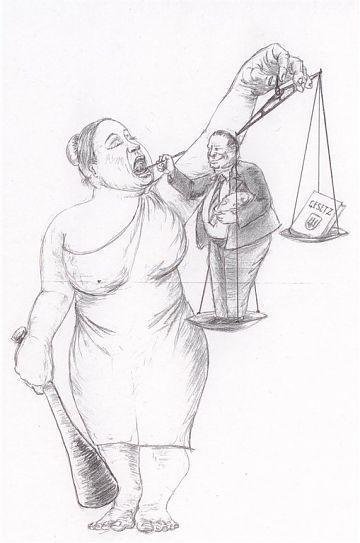 Andrij Makarenko: Fütterung der Justiz