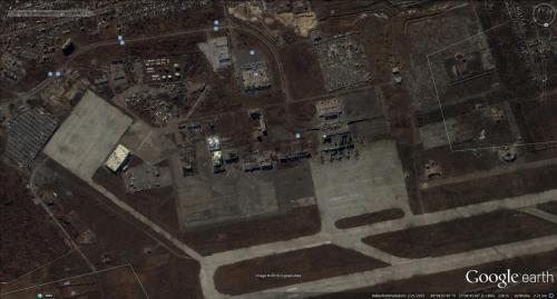 Flughafen Donezk nachher
