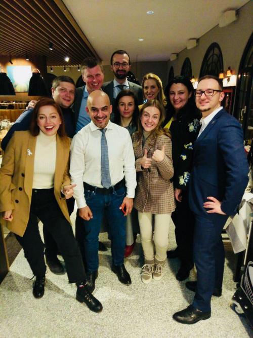 Eurooptimisten in Davos