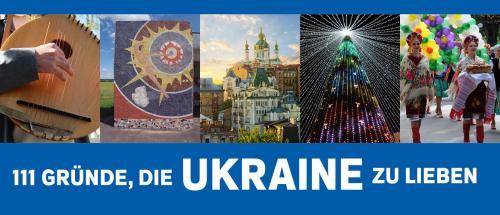 111 Gründe die Ukraine zu lieben