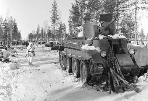 sowjetisch-finnischer Winterkrieg 1940