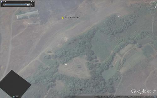 Das gleiche Feldlager ist am 04.09.2014 komplett leer