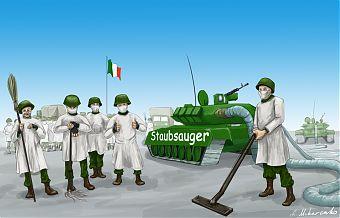 Andrij Makarenko: Russische Hilfe für Italien
