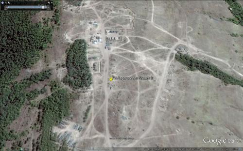 Ein zweites Feldlager circa sechs Kilometer vor der Grenze zur Ukraine am 15.08.2014