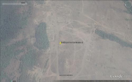 Das gleiche Feldlager am 04.09.2014 leer und abgebaut