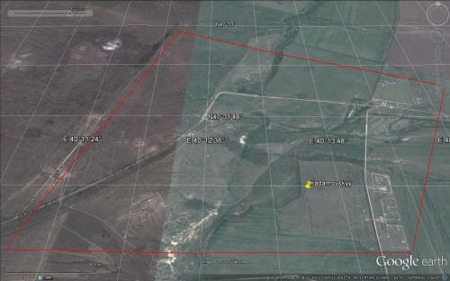 Militärbasis und Truppenübungsplatz Kadomowskij am 08.11.2013. Von einer bevorstehenden Invasionsvorbereitung fehlt noch jede Spur.