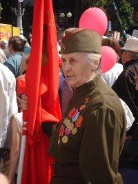 Veteranin der Roten Armee