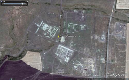 Militärbasis und Truppenübungsplatz Kadomowskij am 04.08.2014