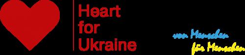 Logo: Ein Herz für die Ukraine