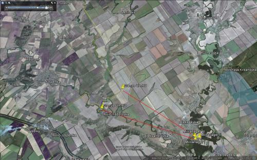 August 2014. Militärfeldlager bei Aleksandrowa im Rostower Gebiet nur sieben bis acht Kilometer von der ukrainischen Grenze entfernt