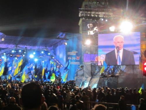 Abschlussveranstaltung Partei der Regionen