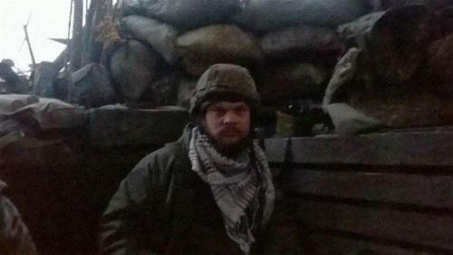 Alexej Skoblja an der Front