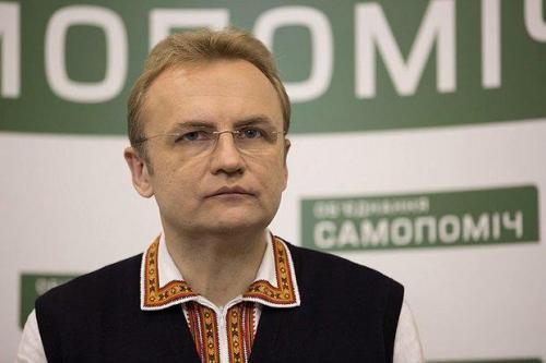 Andrij Sadowyj von Samopomitsch (Selbsthilfe)