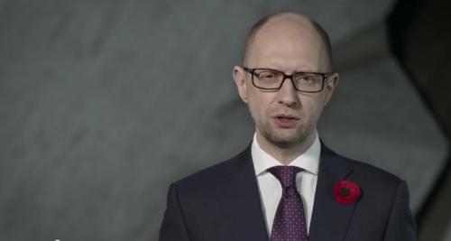 Ministerpräsident Arsenij Jazenjuk
