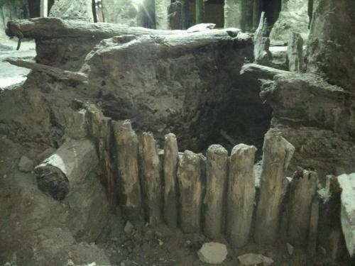 Ein Teil der Ausgrabungen. Klytschko könnte sie noch retten.