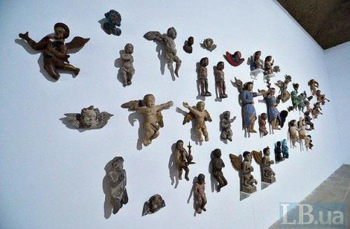 Ausstellung Engel im Kunstarsenal Kiew