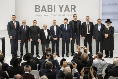 Babi Jar Memorial Pressekonferenz 2016