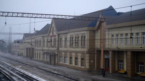 Bahnhof von Pokrowsk (Krasnoarmejsk)