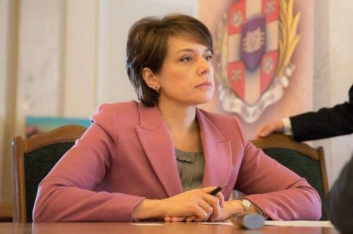 Bildungsministerin Lilija Hrynewytsch
