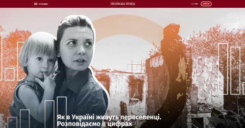 Binnenflüchtlinge Ukraine