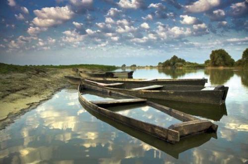 """Boote in den Wolken"" Foto von Iwan Dsjuba. Herkunft: zn.ua"