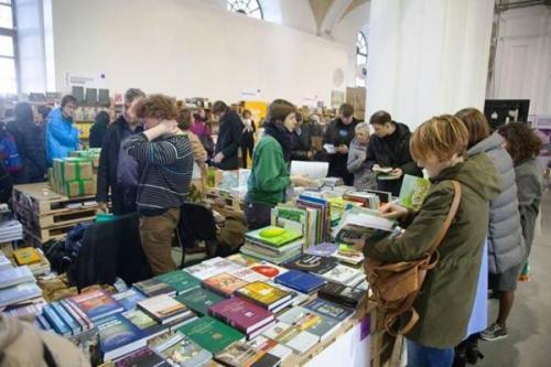 Buchstand russischer Verlage