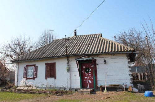 Chruli an der Sula: Hütte