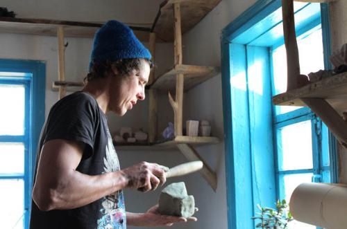 Chruli an der Sula: Pawlo in der Werkstatt