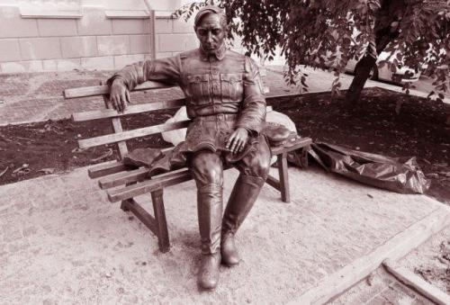 Denkmal für Symon Petljura in Winnyzja