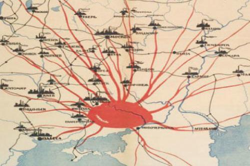 Der Donbass ernährt die Sowjetunion