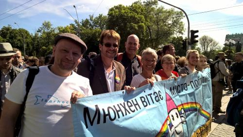 Die Münchner Delegation