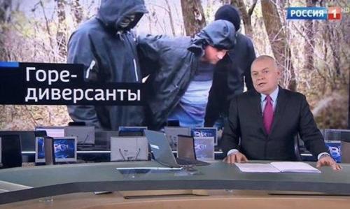 Dmitri Kisseljow und die ukrainischen Terroristen