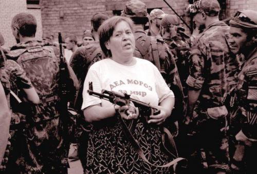 Donbass: Väterchen Frost ist für den Frieden